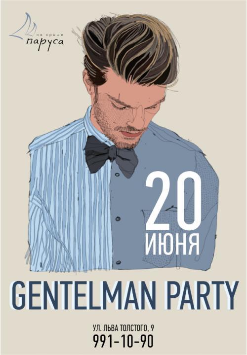 Gentelman party