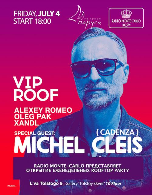 VIP ROOF project  produced by Alexey Romeo