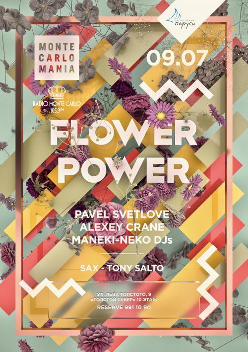 Monte Carlo Mania: FLOWER POWER