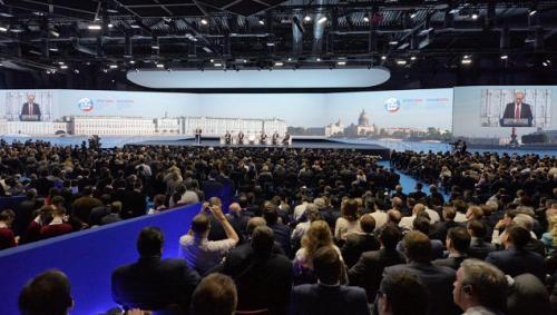 Участникам Санкт-Петербургского экономического форума - скидка на меню.