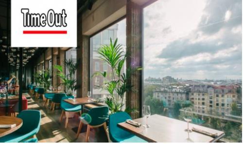 Ресторан Паруса на крыше - премия TimeOut