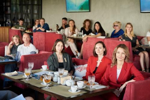 26 июня состоялся традиционный бизнес-завтрак от «Экспресс Сервиса».