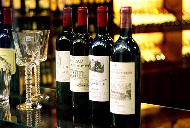 Уникальная винная коллекция в ресторане «Паруса».