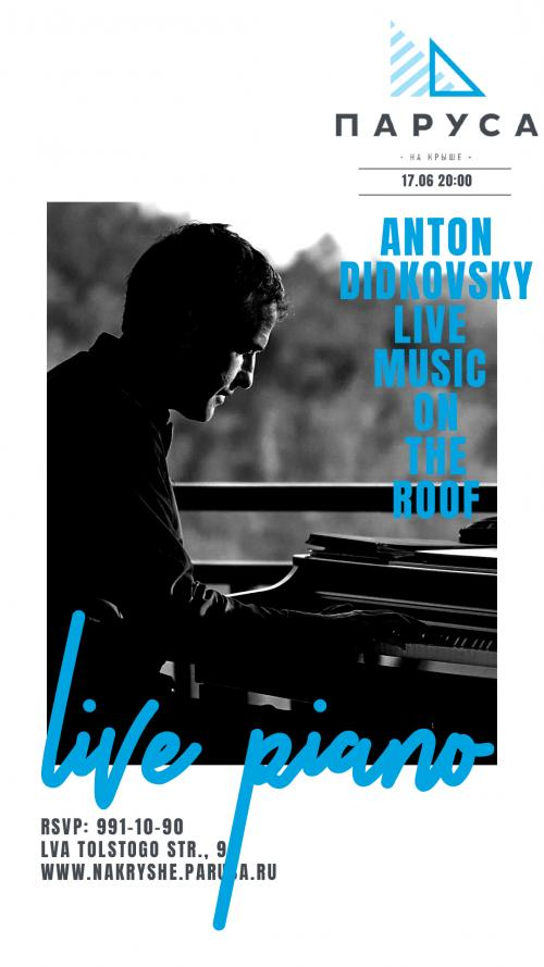 ЖИВАЯ МУЗЫКА - Антон Дидковский - (live).